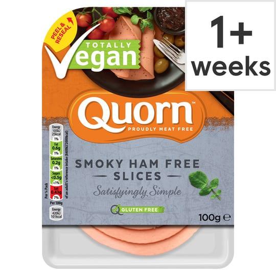 Quorn Vegan Smoky Ham Free Slice