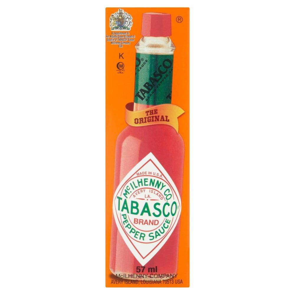 Tabasco Original Red Pepper Hot Sauce 57ml