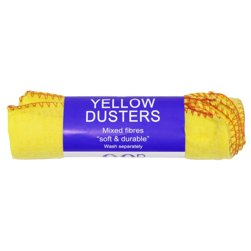 Lifestyle Yellow Dusters 5 Pack