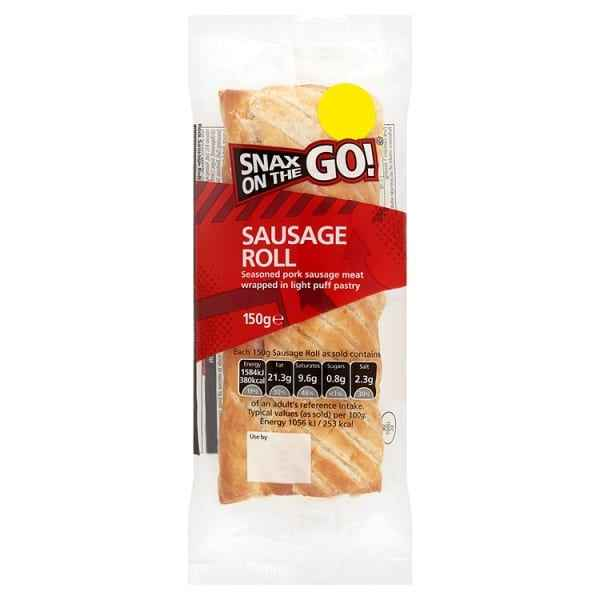 Snax on the Go Vegan Sausage Roll