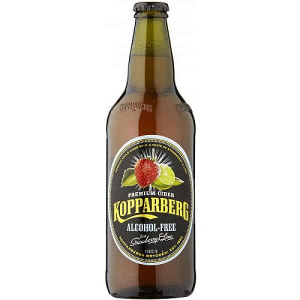 Kopparberg Premium Cider with Strawberry & Lime Alcohol Free