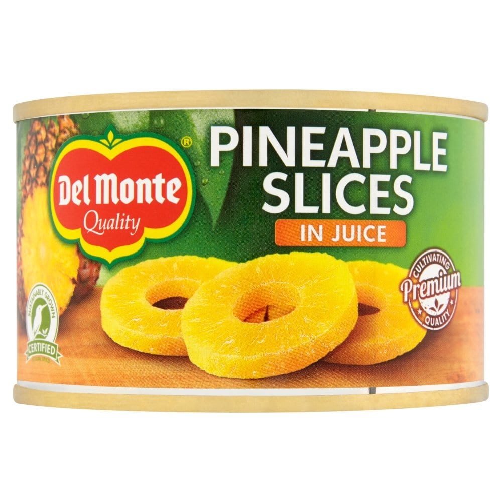 Del Monte Pineapple Slices in Juice 220g