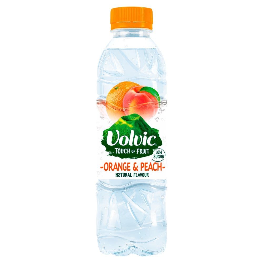 Volvic Touch of Fruit Orange & Peach 500ml