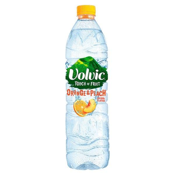 Volvic Touch of Fruit Orange & Peach 1.5L