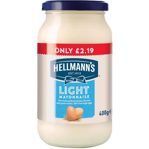 Hellmanns Light Mayonnaise PM