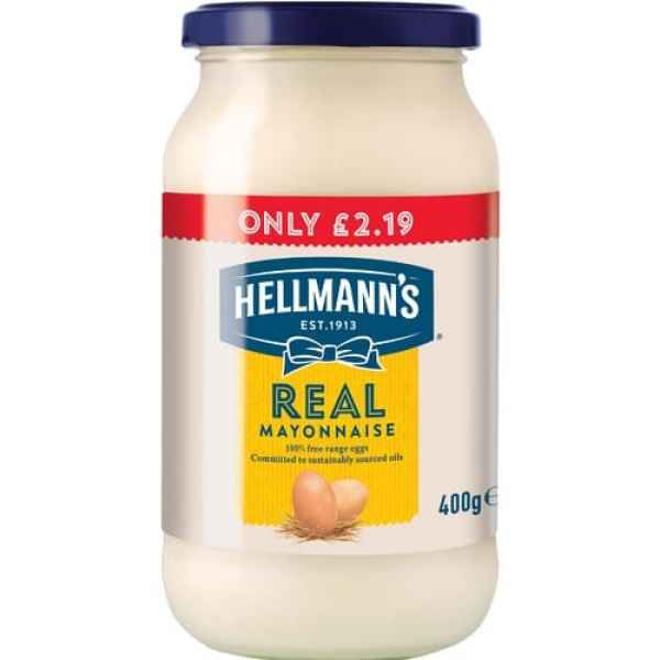 Hellmanns Real Mayonnaise PM