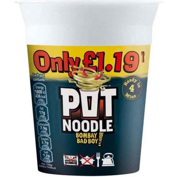 Pot Noodle Bombay Badboy PM