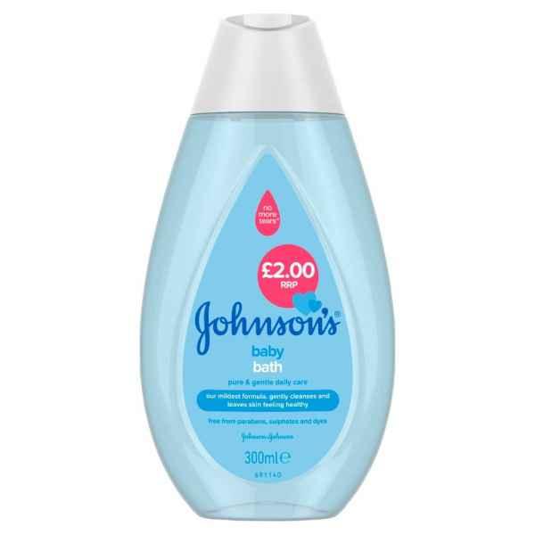 Johnson's Baby Bath 300ml PM