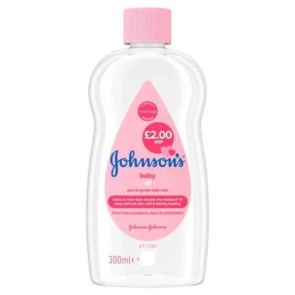 Johnson's Baby Oil 300ml PM