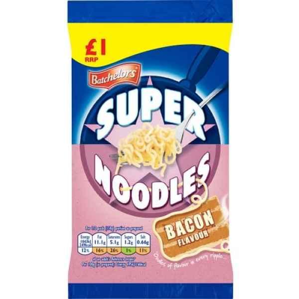 Batchelors Super Noodles Bacon PM
