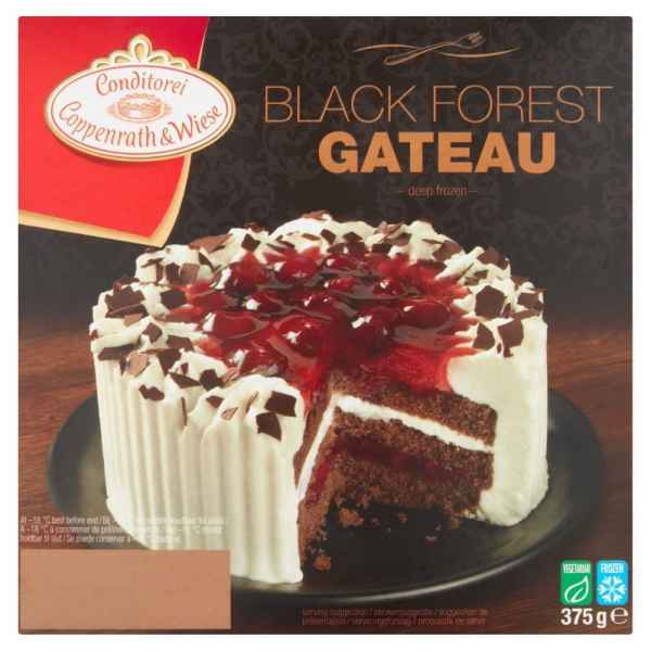 Coppenrath & Wiese Black Forest Gateau 375g