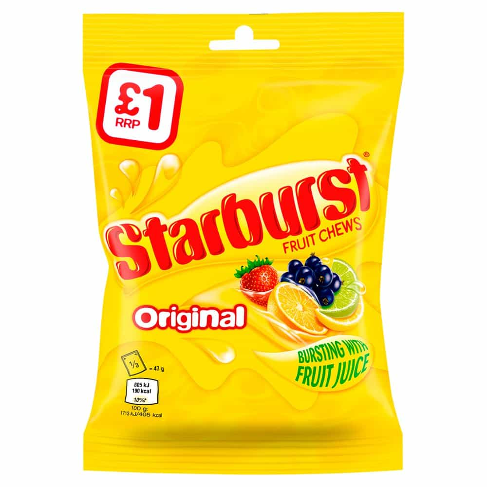 Starburst Original Fruits Chews