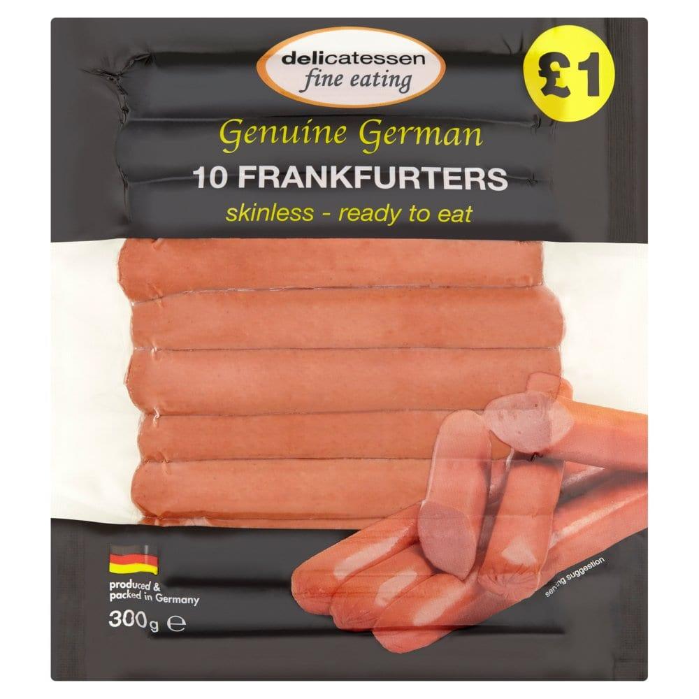 Delicatessen Frankfurters 10 x 30g (300g)