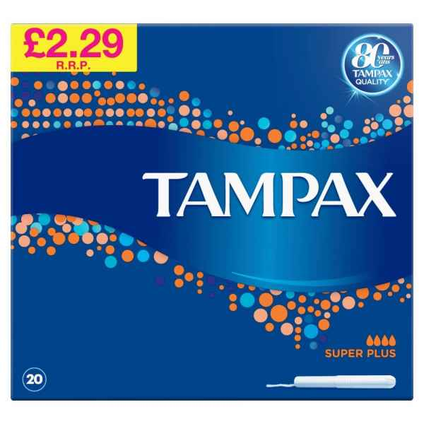 Life & Looks Tampax Blue Box Super Plus PM