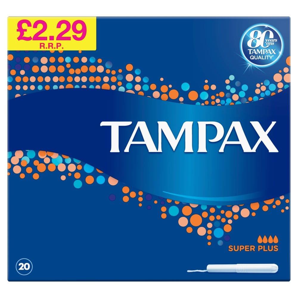 Life & Looks Tampax Blue Box Super Plus PM