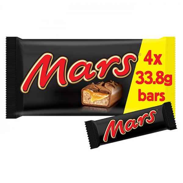 Mars 4 x 33.8g (135.2g)
