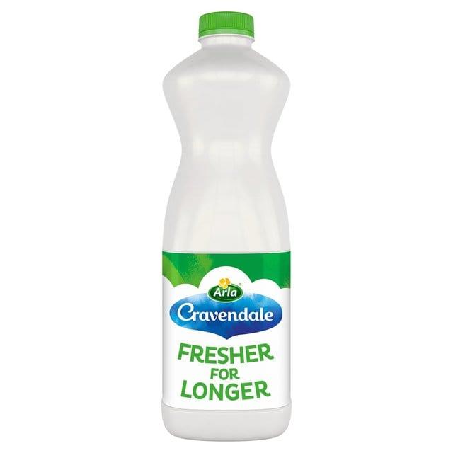 Cravendale Semi Skinned Milk 1L