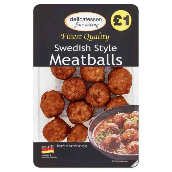 Delicatessen Swedish Style Meatballs 200g
