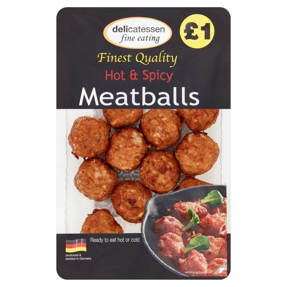 Delicatessen Hot & Spicy Meatballs 200g