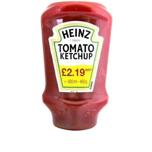 Heinz Ketchup Topdown PM