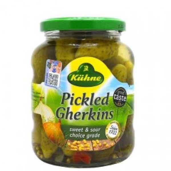 Kuhne Pickled Gherkins 330g