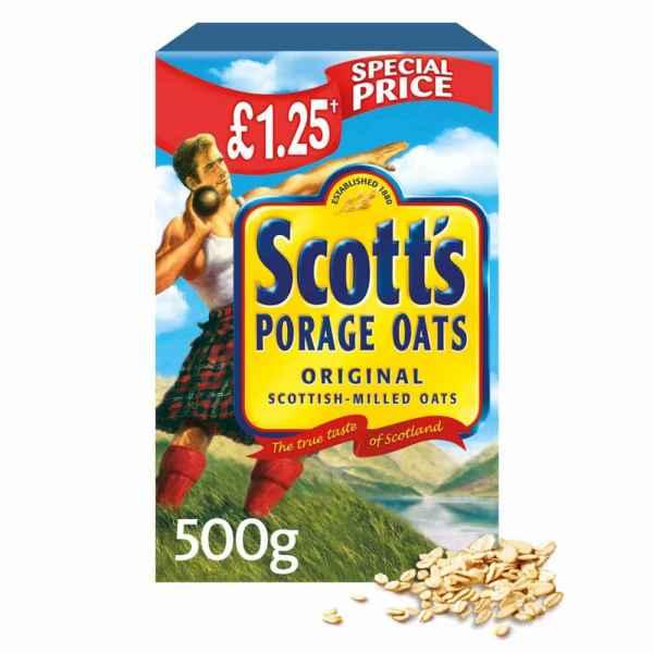 Scott's Original Porage Oats 500g