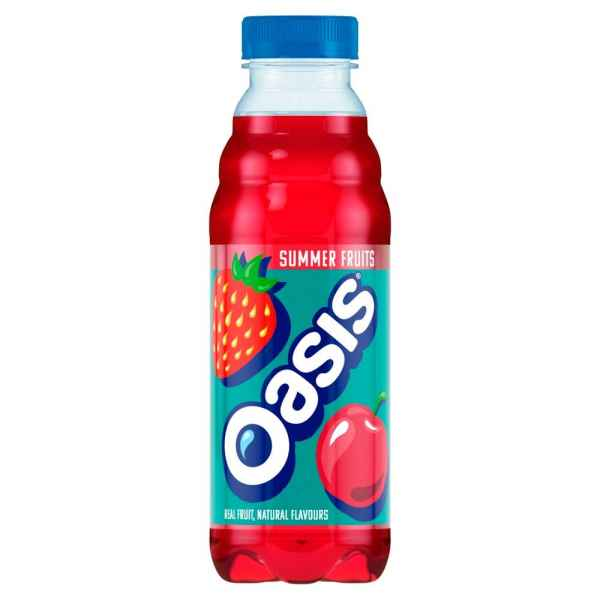 Oasis Summer Fruits 500ml PMP