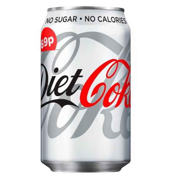 Diet Coke 330ml PMP