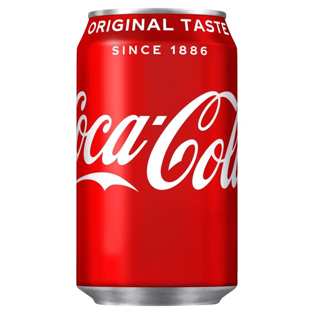 Coca-Cola Original Taste 330ml PMP