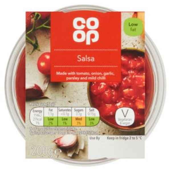 Co-op Salsa Dip 200g