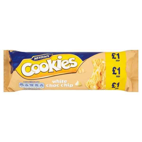McVitie's Cookies White Choc Chip 150g PMP