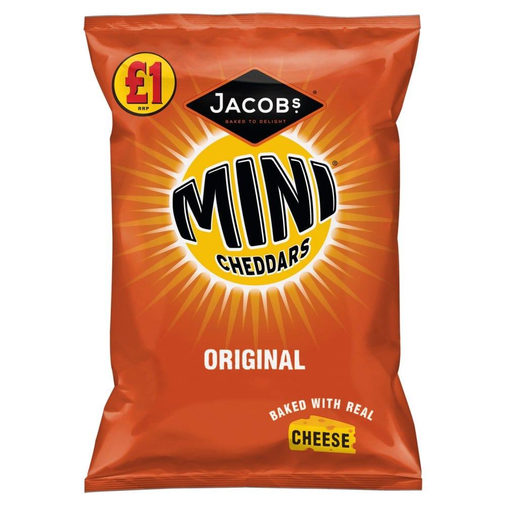 Jacob's Mini Cheddars Original 105g