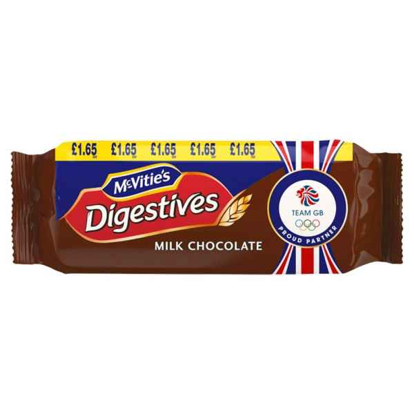 McVitie's Digestives Milk Chocolate 266g PMP