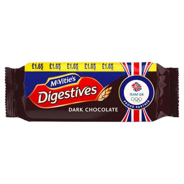 McVitie's Digestives Dark Chocolate 266g PMP