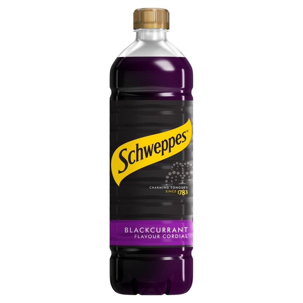 Schweppes Blackcurrant Flavour Cordial 1L