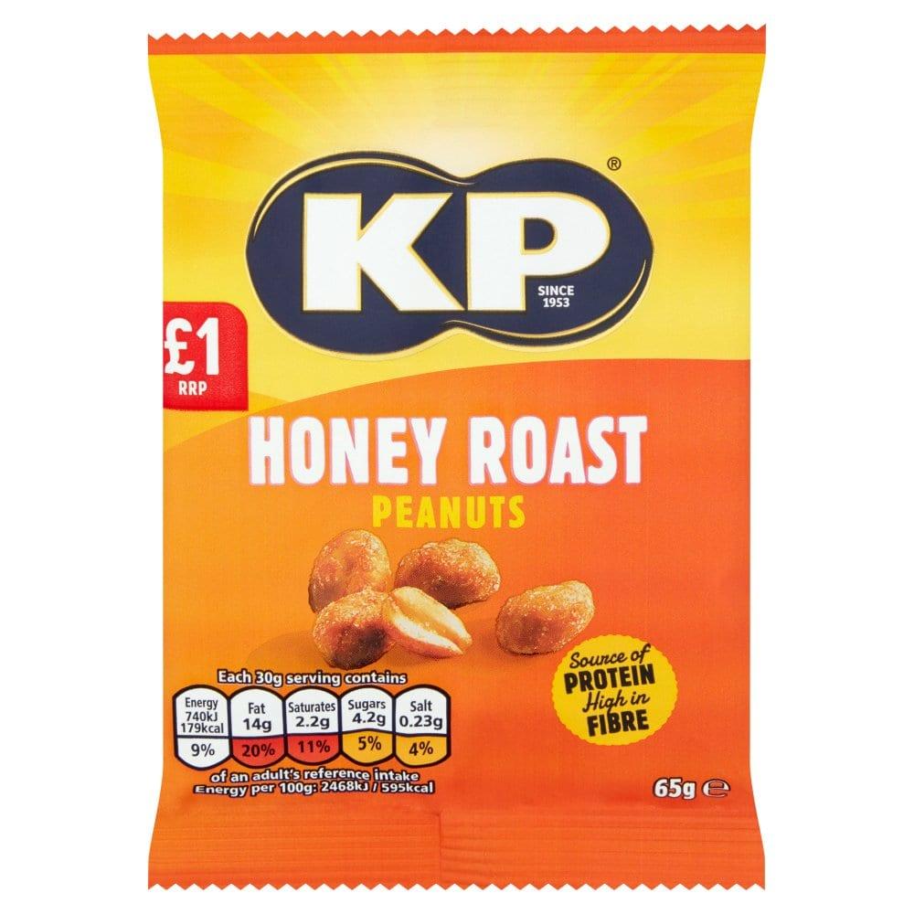 KP Honey Roast Peanuts 65g