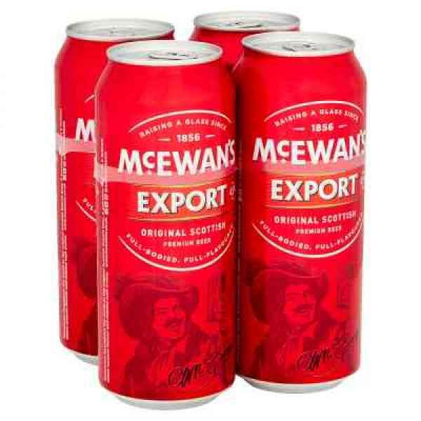 McEwan's Export Original Scottish Premium Beer 4 x 500ml