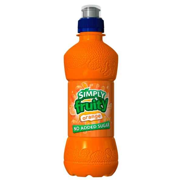 Simply Fruity Orange 330ml