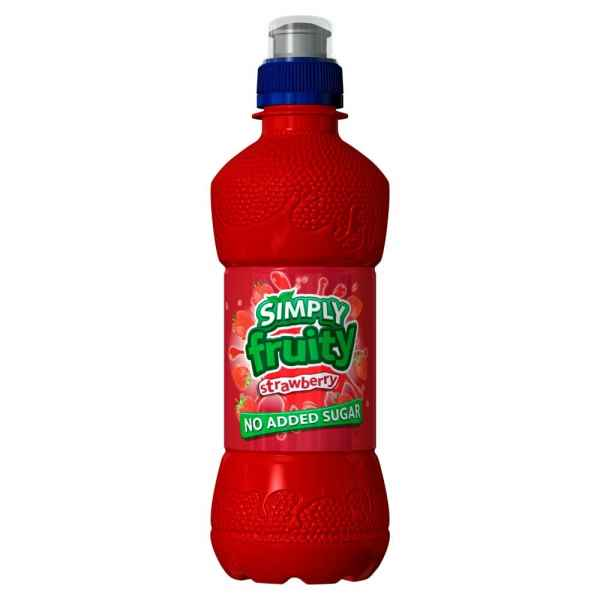 Simply Fruity Strawberry 330ml