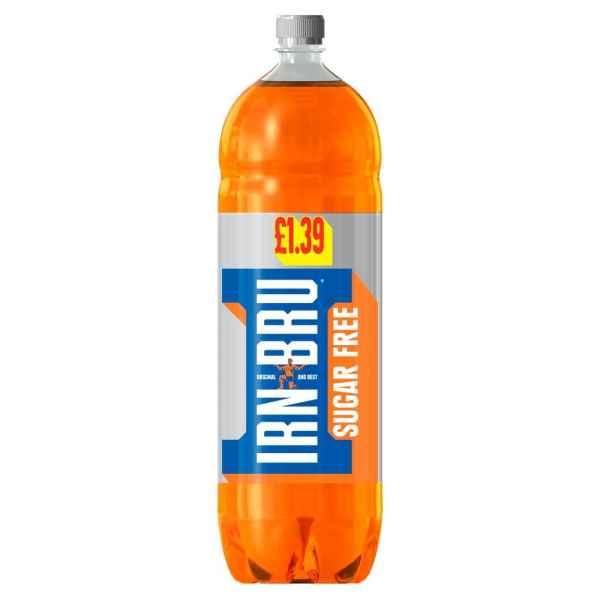 IRN-BRU Sugar Free 2L Bottle PMP