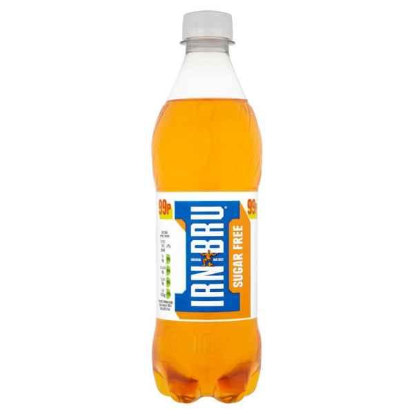 IRN-BRU Sugar Free 500ml Bottle PMP