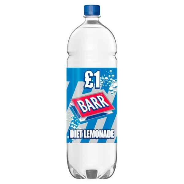 Barr Diet Lemonade 2L Bottle PMP