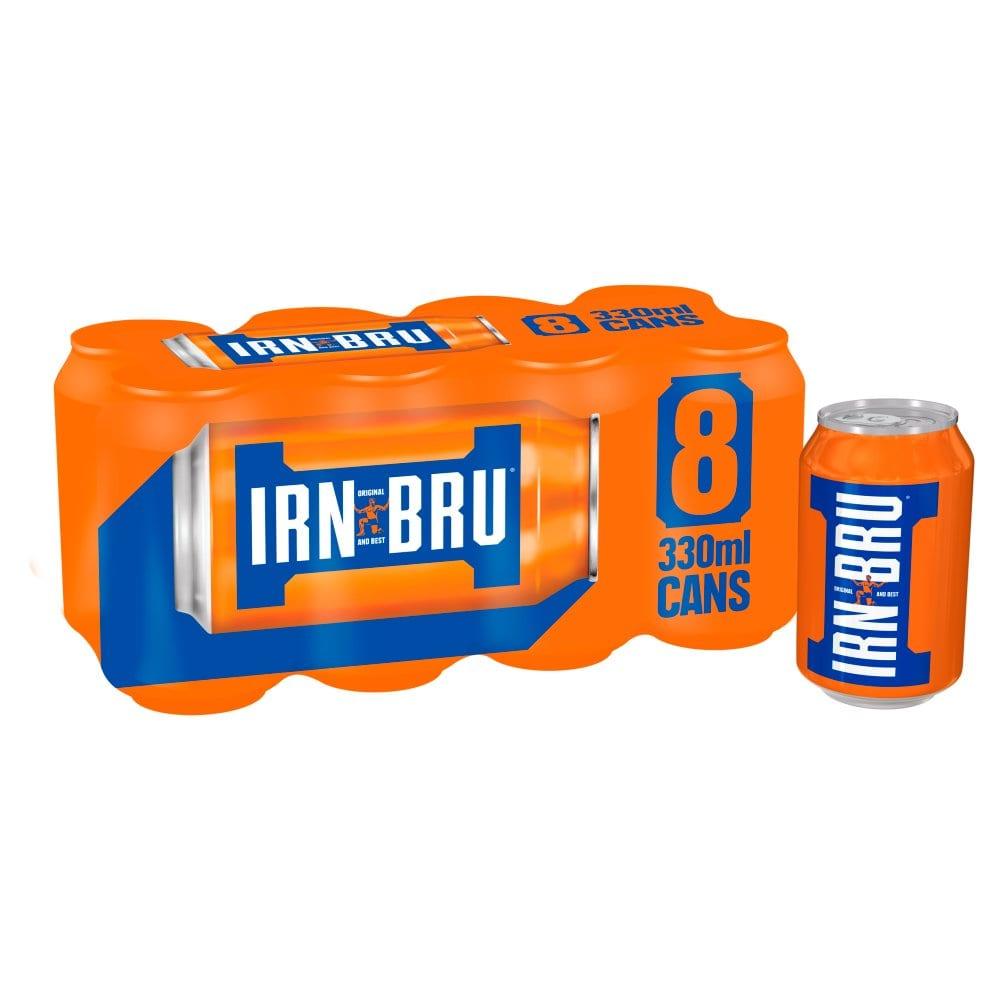IRN-BRU 8 x 330ml Cans PMP