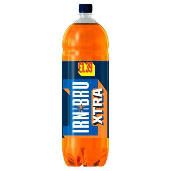IRN-BRU Xtra 2L Bottle PMP