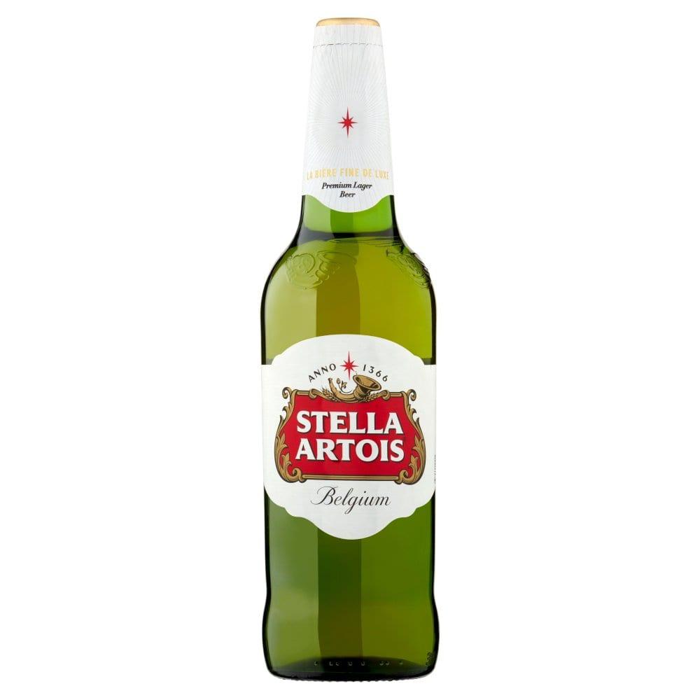 Stella Artois Lager Beer 660ml