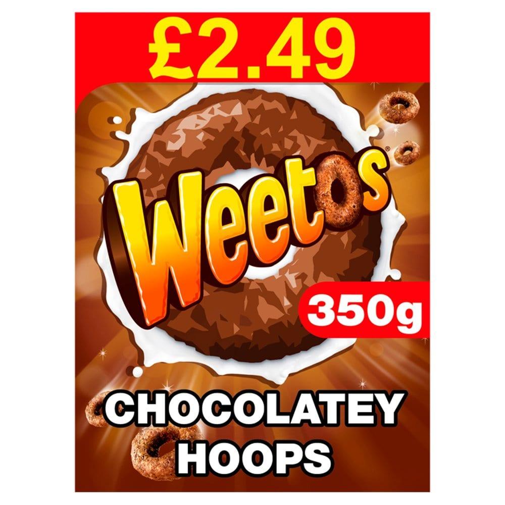 Weetos Chocolatey Hoops 350g PM