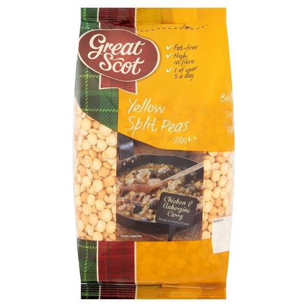 Great Scot Yellow Split Peas 500g