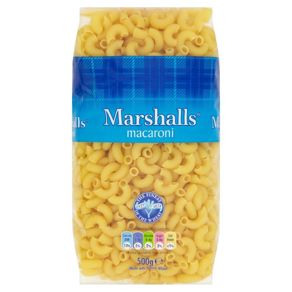 Marshalls Macaroni 500g