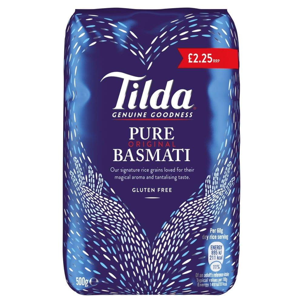 Tilda Pure Basmati Rice 500G