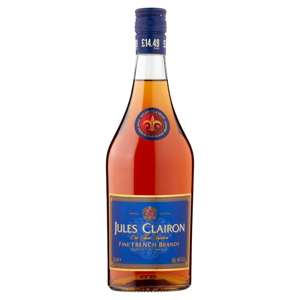 Jules Clairon Oak Aged Napoleon Fine French Brandy 70cl PM